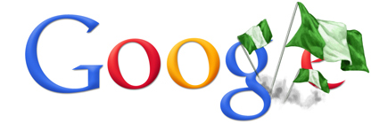 Google Logo: Nigeria independence day